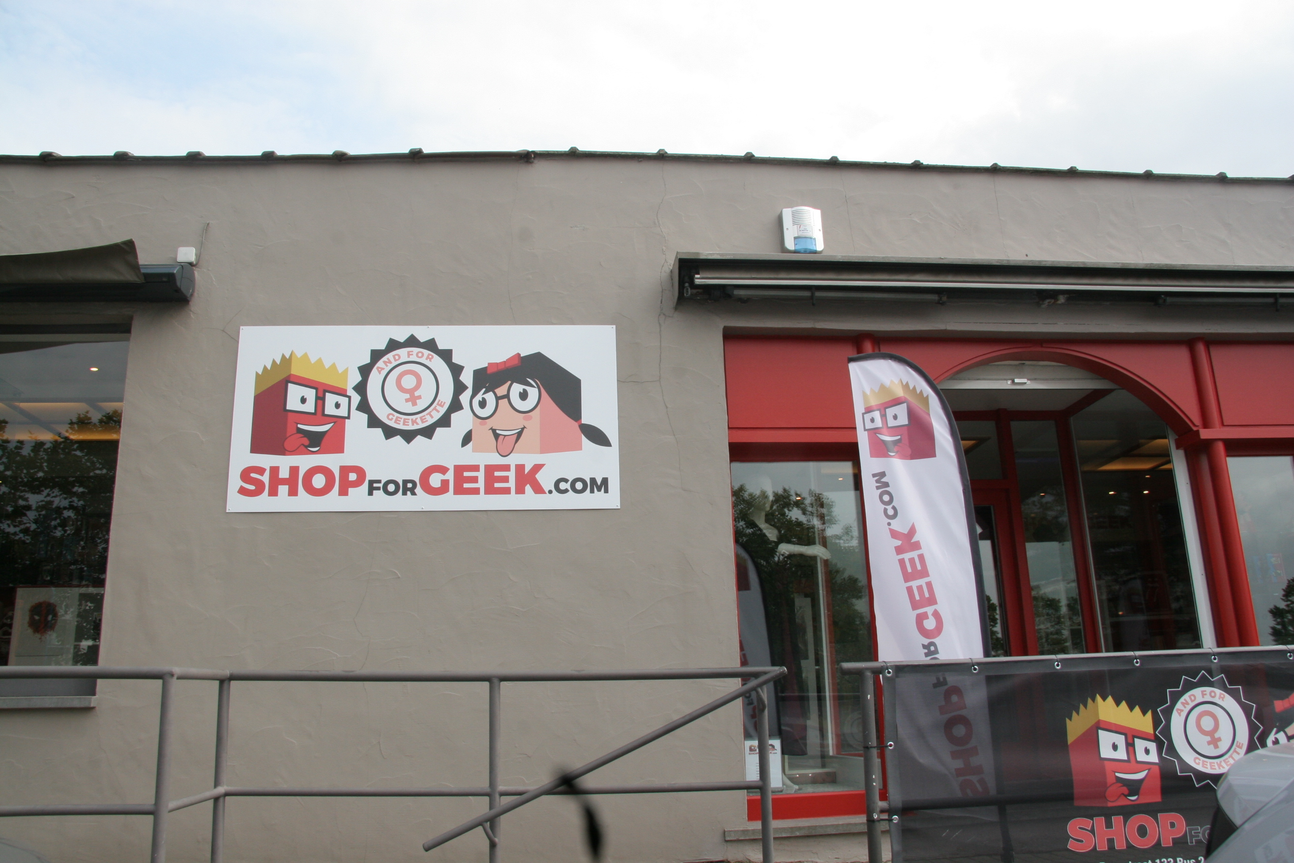 Nieuw in de Bergstraat: Shop for Geek