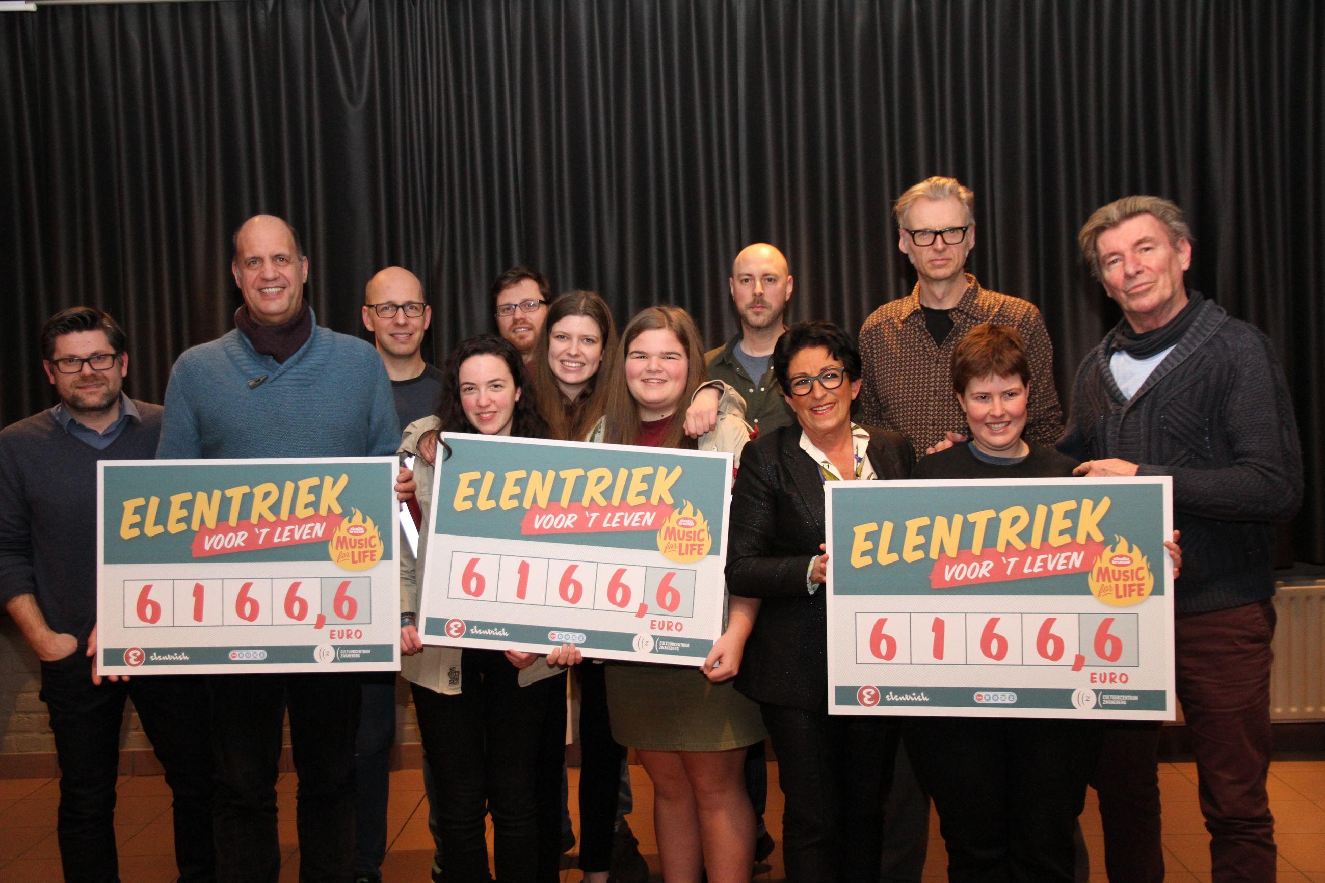 Elentriek zingt 18.500 euro bij elkaar