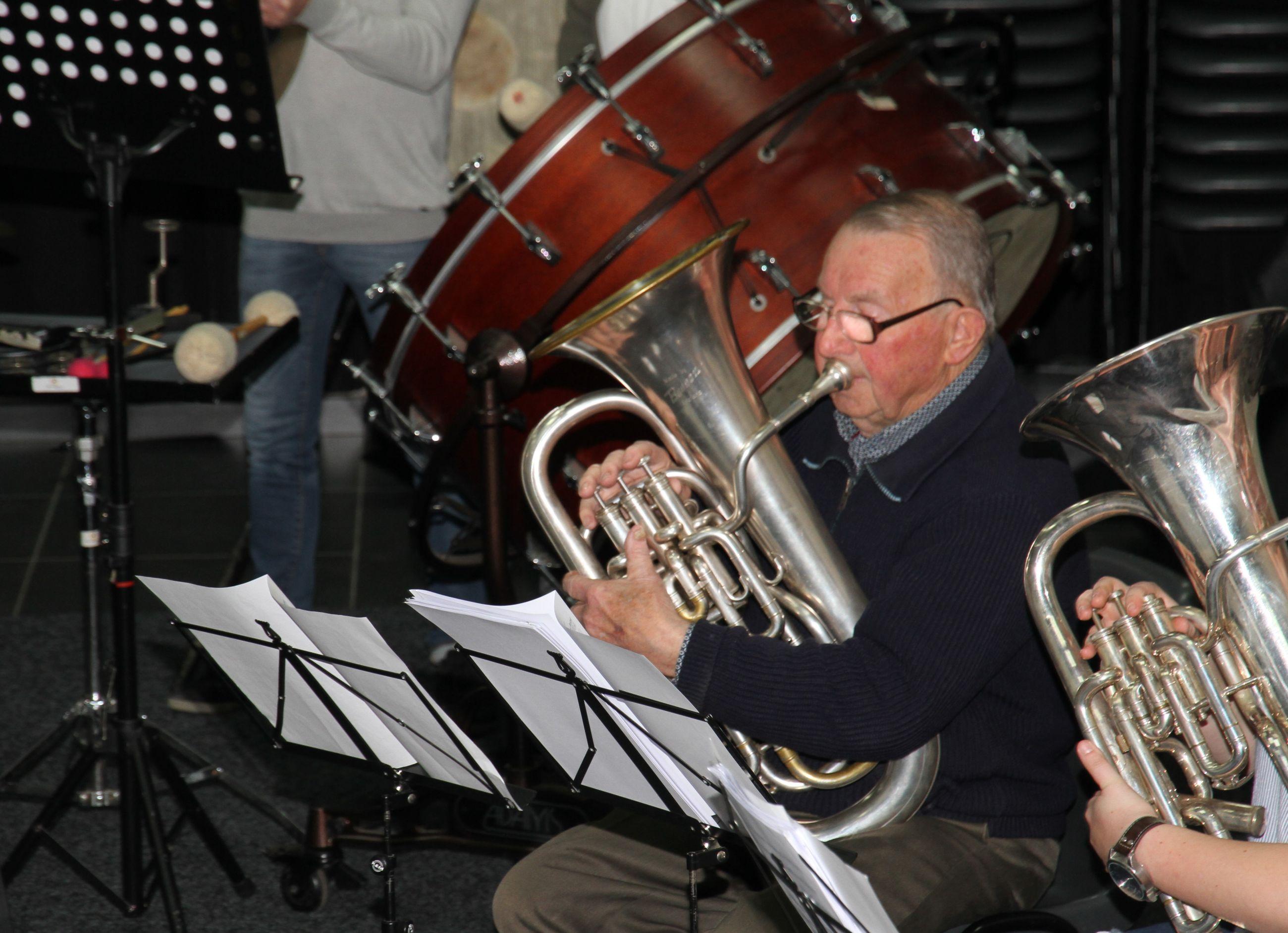 Donneke speelt zijn laatste concert
