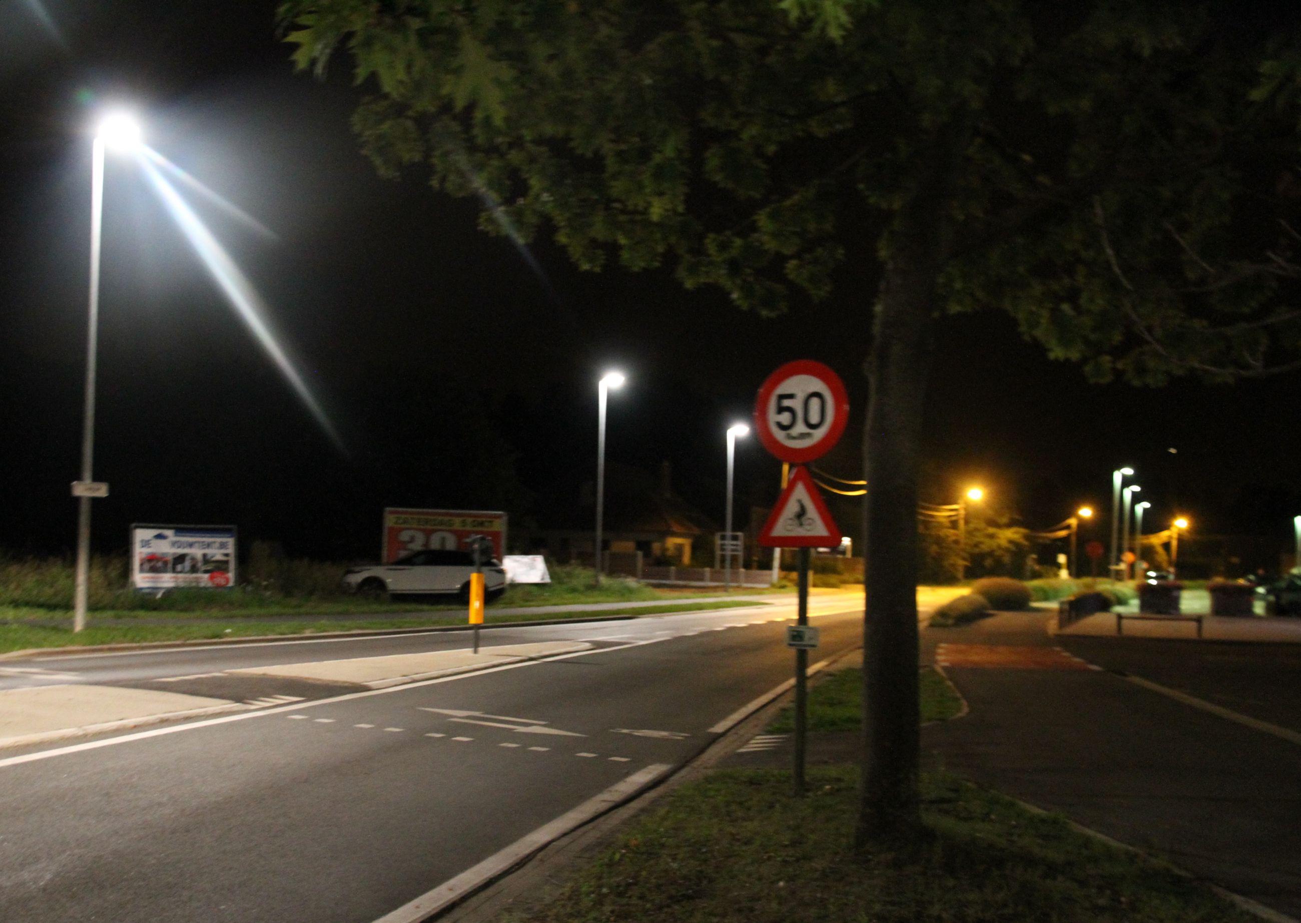 Heist verkoopt zijn straatverlichting