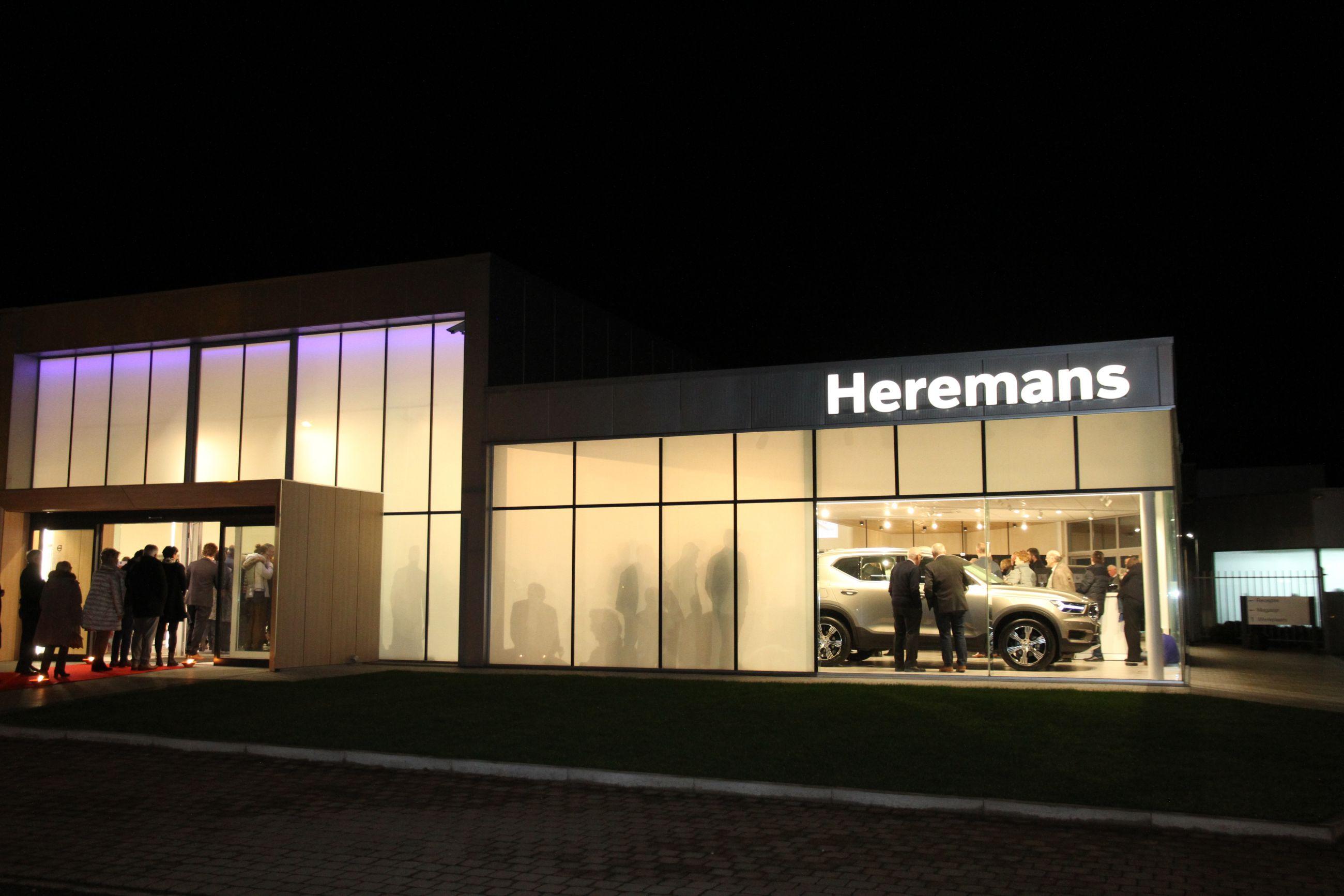Een nieuwe showroom voor Volvo Heremans