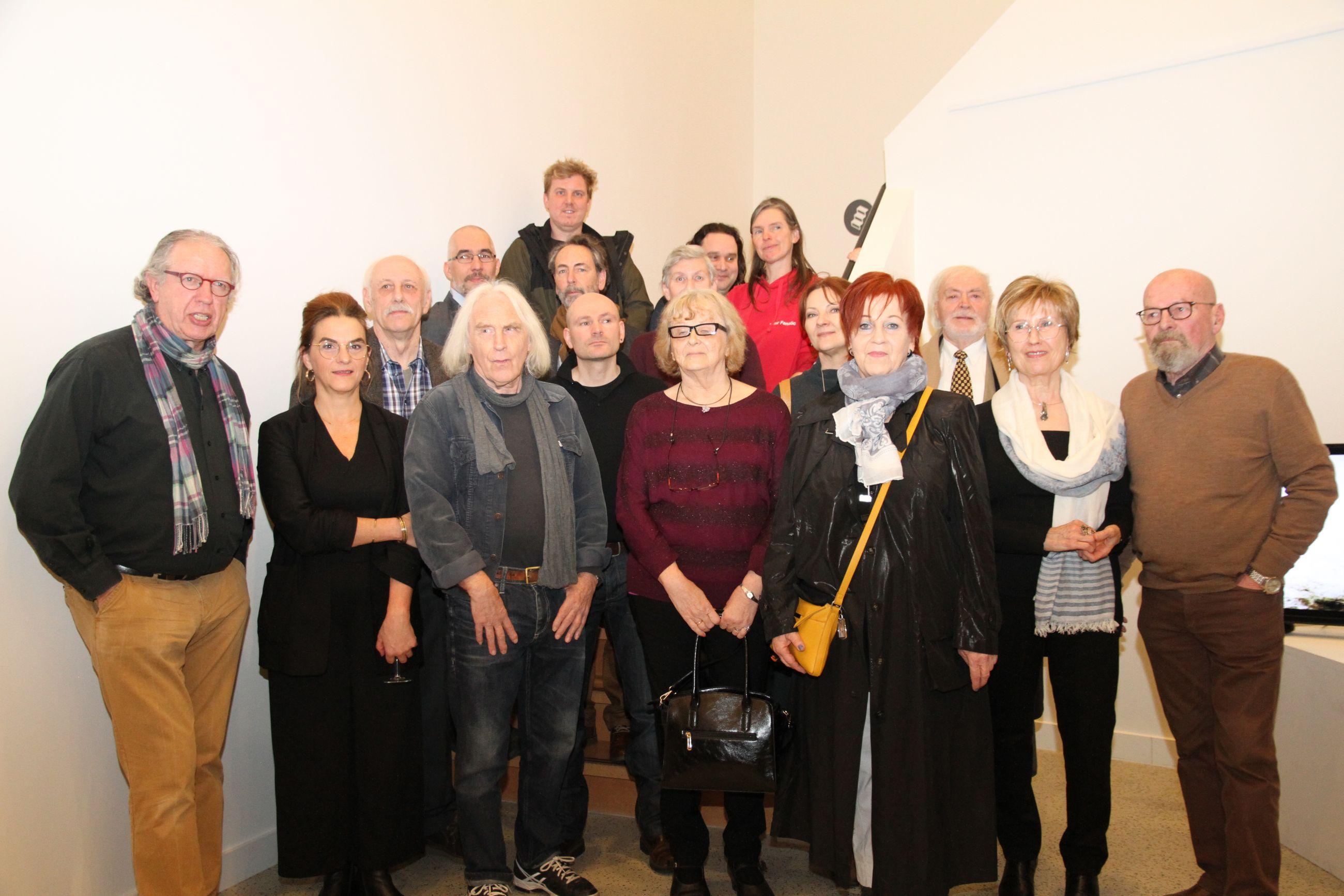 De diversiteit van 16 Heistse kunstenaars