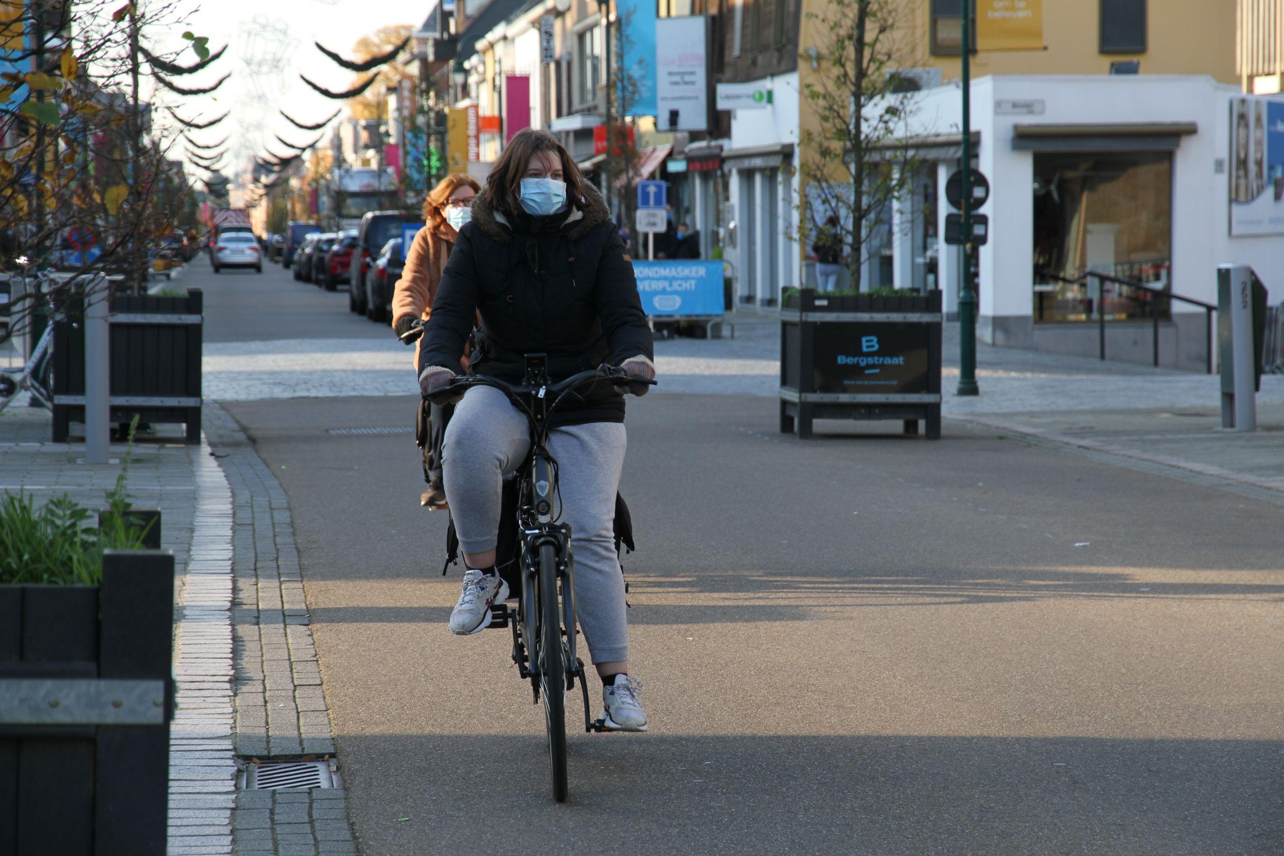 Bergstraat wordt 'fietsstraat'