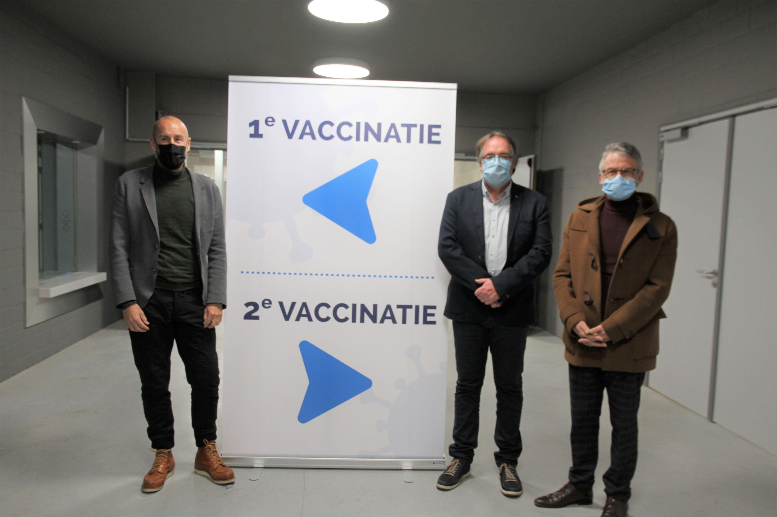"""""""Wij  zijn klaar, nu nog vaccins krijgen"""""""