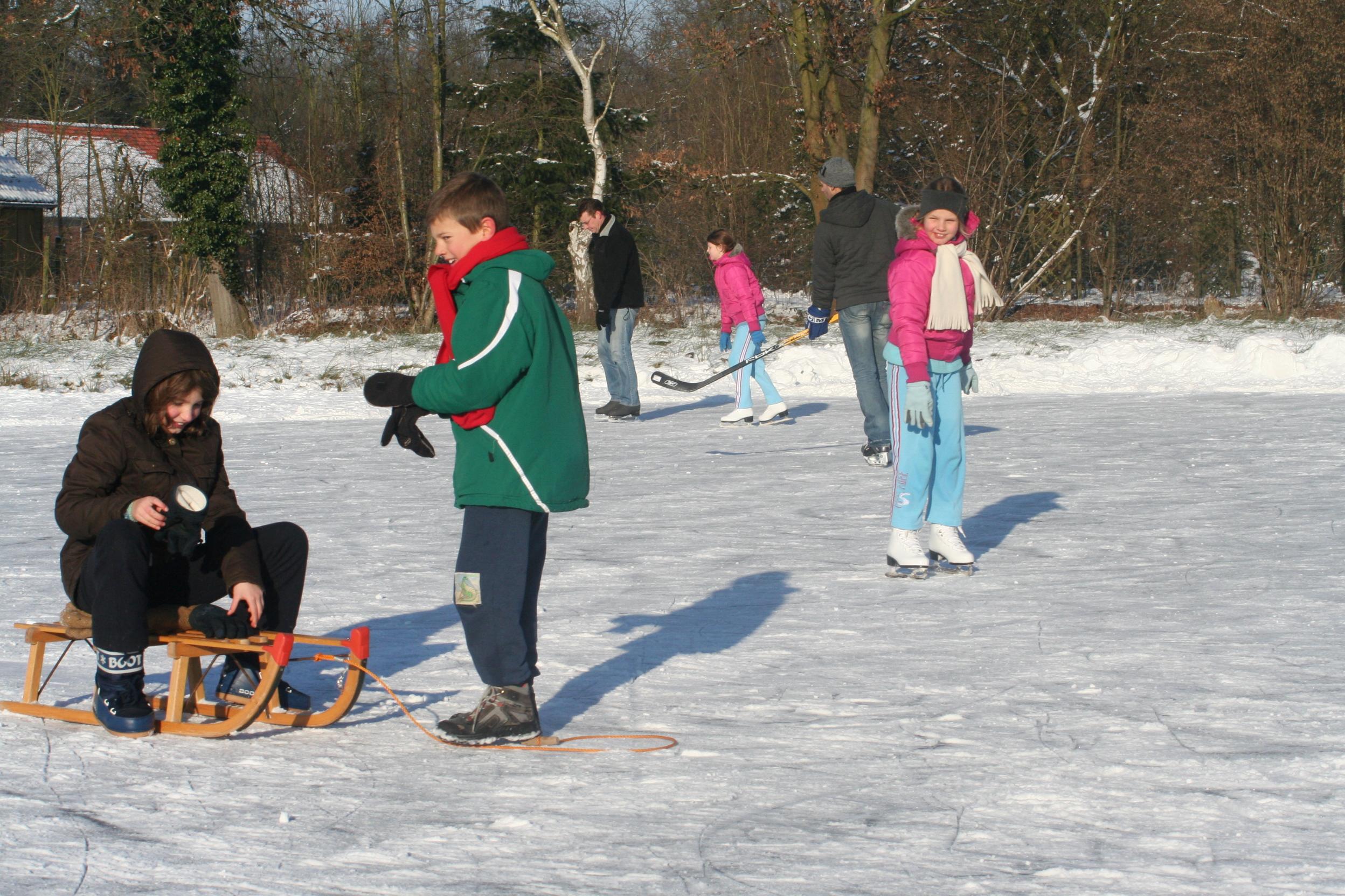 Toch schaatsen als de ijsbaan dicht is?