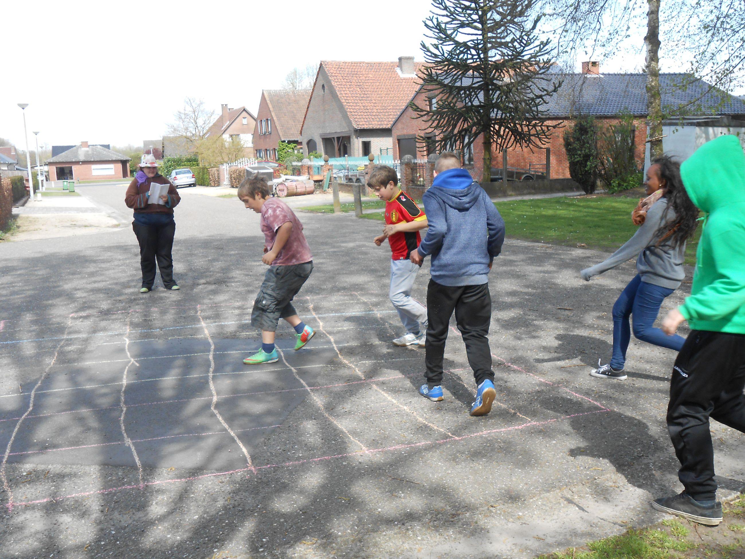 Spelen op straat