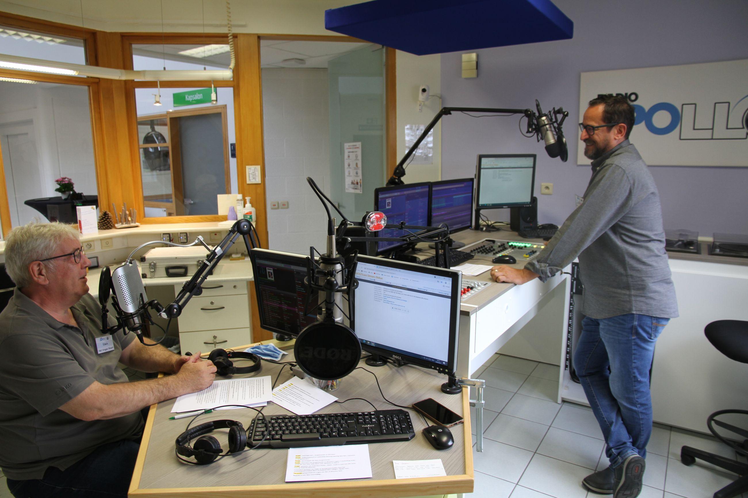 Radio Apollo huist nu in woonzorgcentrum St.Jozef