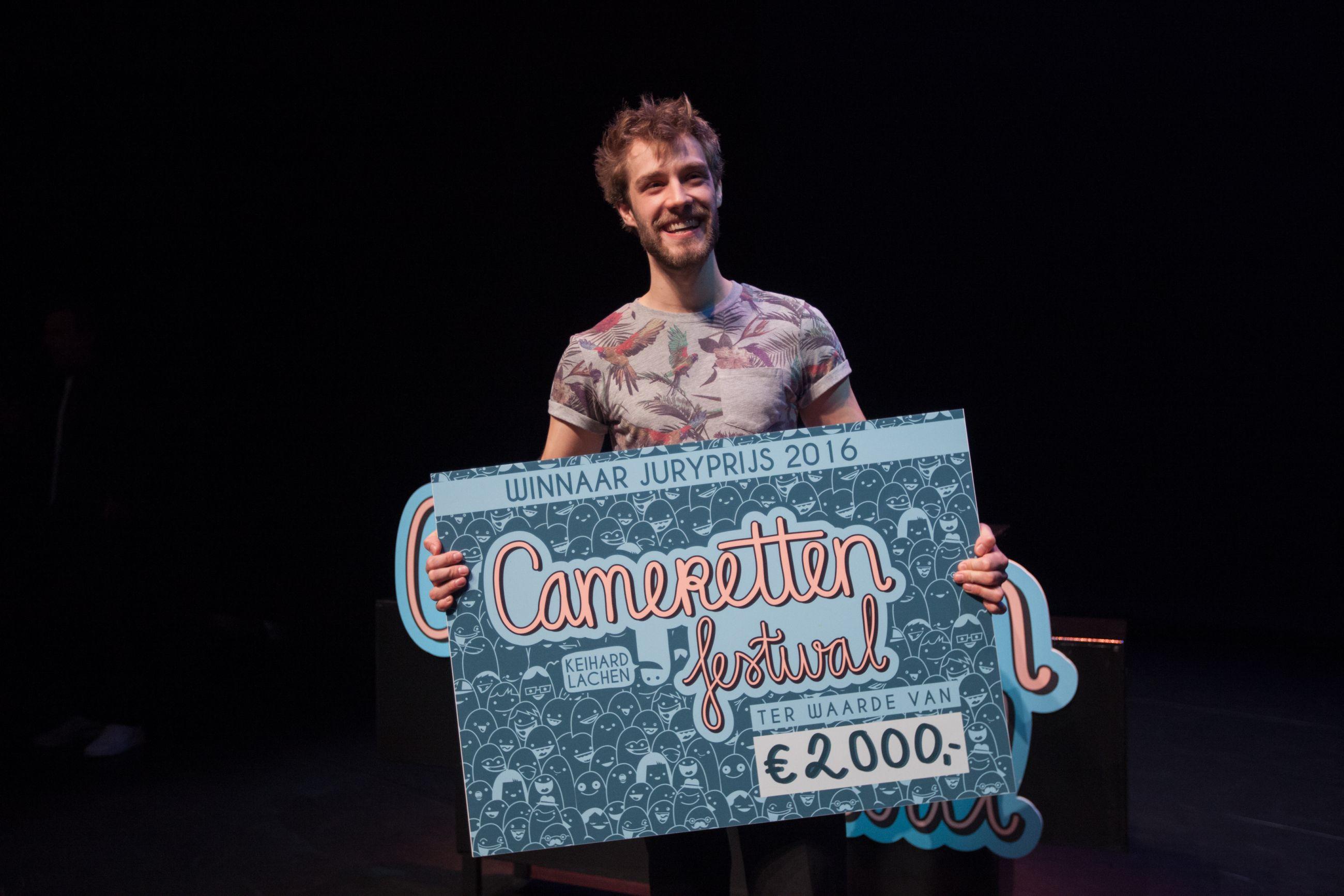 Heistenaar wint grootste Cabaretfestival van Nederland