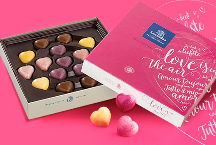 Zeg het met chocolade