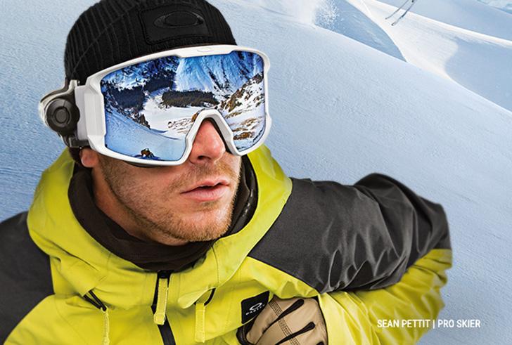 Een uitstekend zicht tijdens het skien