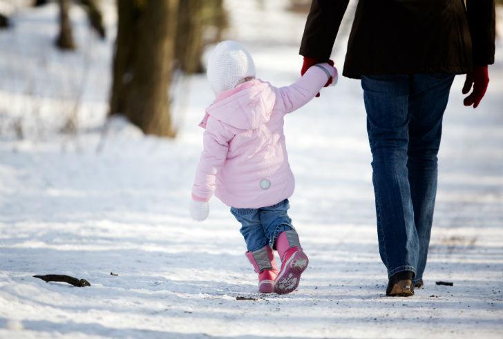 Winters wandelen