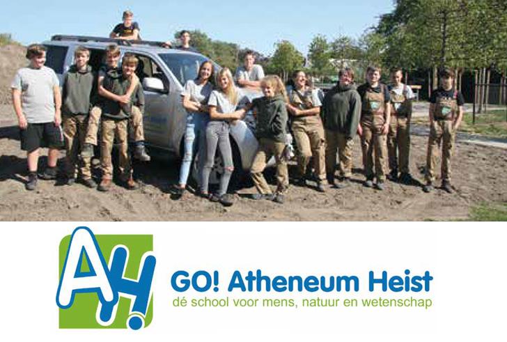 GO! Atheneum Heist nam een nieuwe start