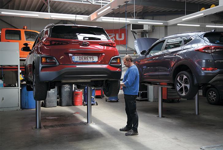 Garage Wuyts, uitstekende service