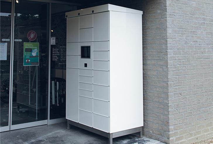 Pakketjesautomaat voor fietsliefhebbers