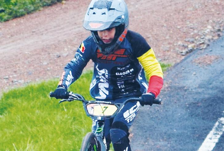 Veelbelovende toekomst voor Oliver Wyns, Belgisch Kampioen BMX uit Heist