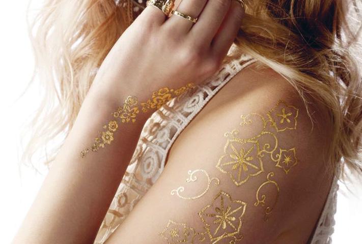 Puur goud op je huid