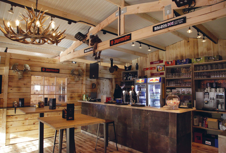 Pop-up Winterbar 'Moose'