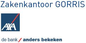 Logo Zakenkantoor Gorris (AXA)
