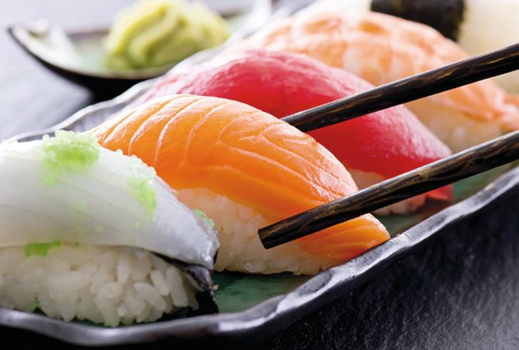Verse Aziatische gerechten & sushi