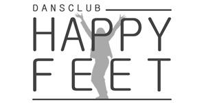 Logo Dansclub Happy Feet